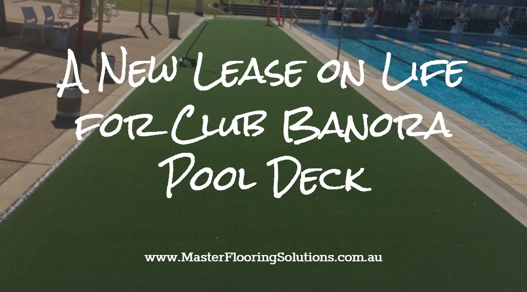 New Synthetic Turf Transforms Pool Deck