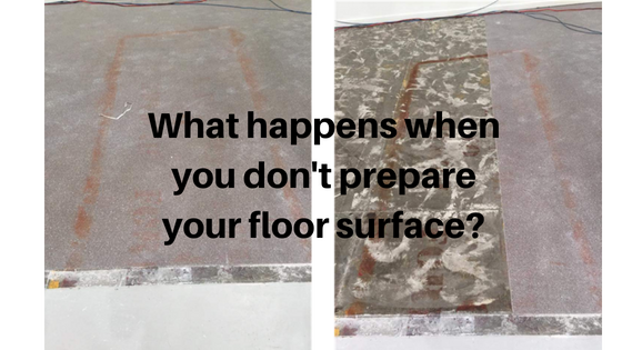 Surface preparation is key to a great flooring finish