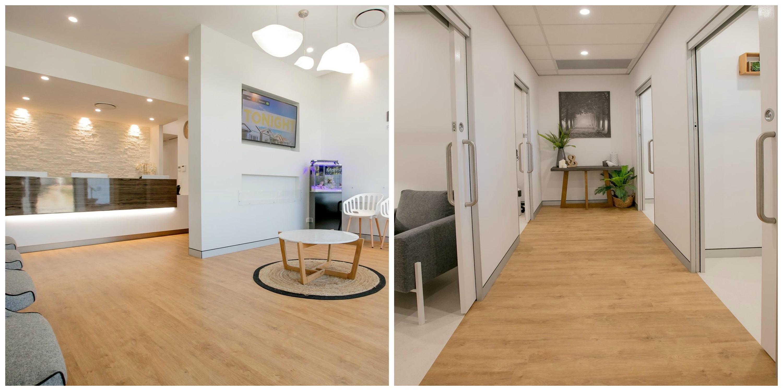 Sheet Vinyl, Commercial flooring, Commercial vinyl installation, medical centre flooring, Master Flooring Solution